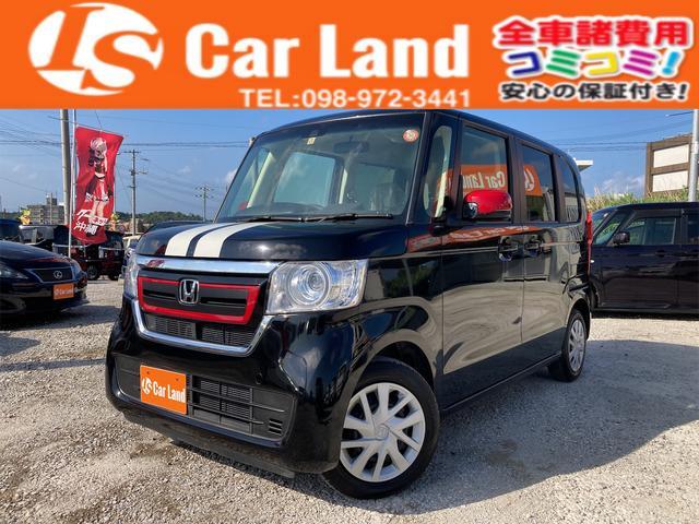 沖縄の中古車 ホンダ N-BOX 車両価格 109万円 リ済込 2017(平成29)年 1.4万km ブラックM