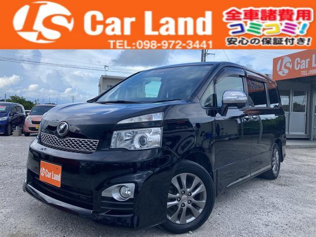 沖縄の中古車 トヨタ ヴォクシー 車両価格 99万円 リ済込 2012(平成24)年 7.0万km ブラックM