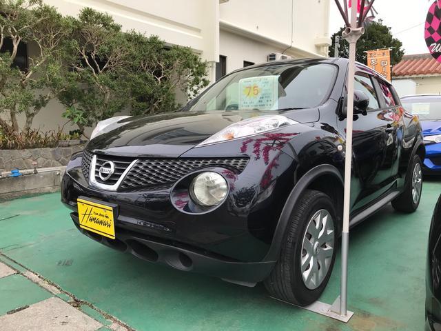 沖縄県の中古車ならジューク 15RS タイプV インテリキー プッシュスタート ナビ TV バックカメラ 2年保証
