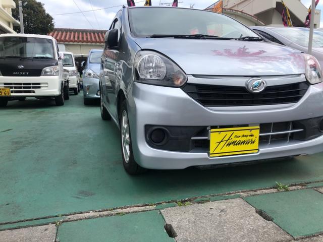 沖縄の中古車 ダイハツ ミライース 車両価格 36万円 リ済込 2012(平成24)年 9.9万km グレーM