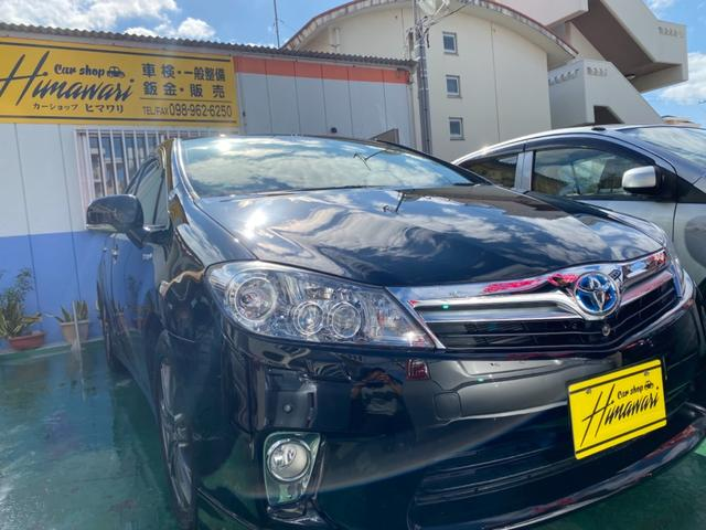 沖縄の中古車 トヨタ SAI 車両価格 68万円 リ済込 2011(平成23)年 10.2万km ブラックM