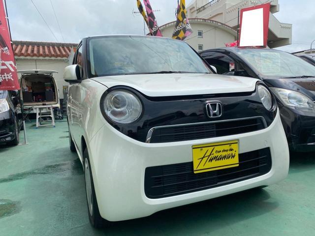沖縄県沖縄市の中古車ならN-ONE G スマートキー プッシュスタート ナビ 横滑り防止 2年保証対象車