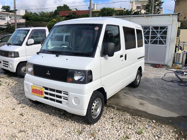 沖縄の中古車 三菱 ミニキャブバン 車両価格 23万円 リ済込 2007(平成19)年 8.6万km ホワイトII