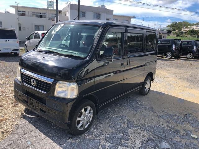 沖縄の中古車 ホンダ バモス 車両価格 34万円 リ済込 2009(平成21)年 13.8万km ブラックM