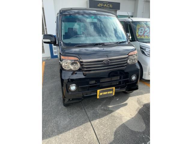 沖縄の中古車 ダイハツ アトレーワゴン 車両価格 67万円 リ済別 2012(平成24)年 10.2万km ブラック