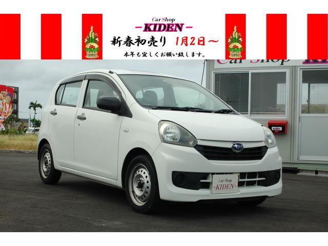 沖縄の中古車 スバル プレオプラス 車両価格 29万円 リ済別 2013(平成25)年 6.4万km ホワイト