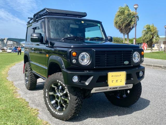 沖縄県浦添市の中古車ならジムニー XC /BLACKジムニーコラボバージョンS・3インチリフトUP