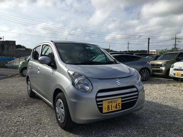 沖縄県の中古車ならアルトエコ ECO-S 2年保証 アイドリングストップ スマートキー 新品シートカバー 電動格納ミラー