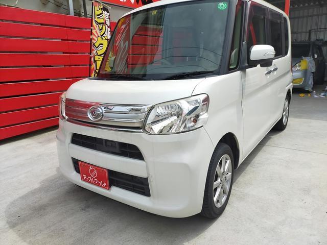 沖縄県の中古車ならタント G SA 両側パワスラ ETC ナビ付 安心の1年保証