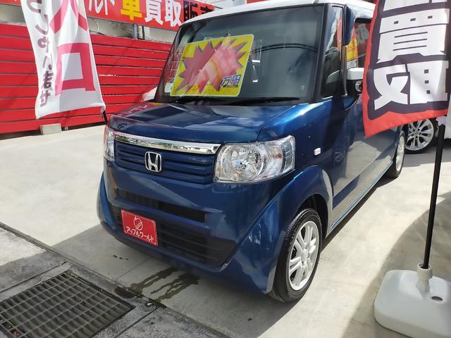 沖縄県沖縄市の中古車ならN-BOX+ G・ターボパッケージ