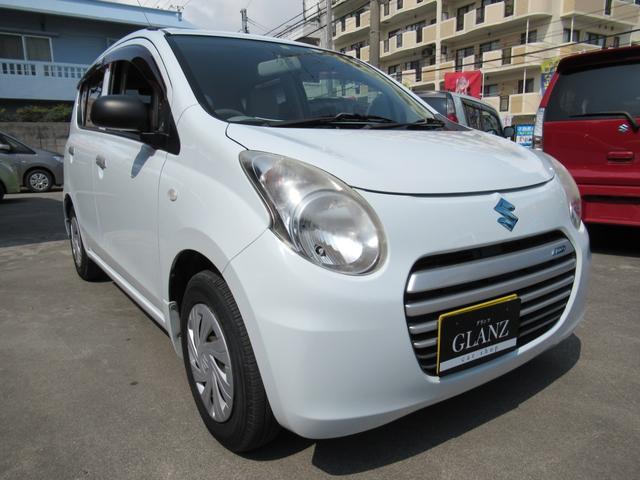 沖縄の中古車 スズキ アルトエコ 車両価格 39万円 リ済込 2013(平成25)年 4.0万km ホワイトII