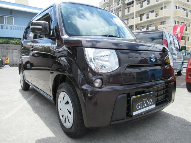 沖縄の中古車 スズキ MRワゴン 車両価格 39万円 リ済込 2012(平成24)年 10.0万km ブラウン