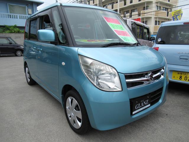 沖縄の中古車 スズキ パレット 車両価格 43万円 リ済込 2010(平成22)年 8.0万km ブルーM