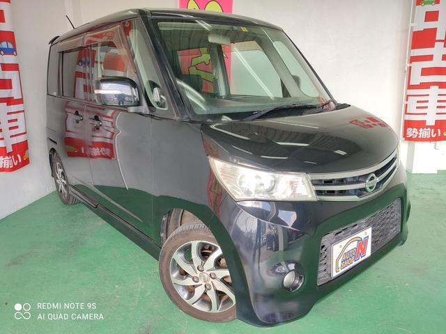 沖縄の中古車 日産 ルークス 車両価格 15万円 リ済込 2010(平成22)年 15.6万km ブラック