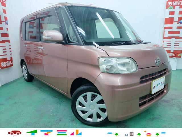 沖縄県浦添市の中古車ならタント X 走行9万km台 地デジTV スマートキー