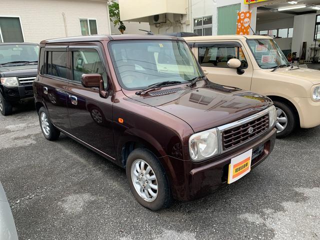 沖縄県沖縄市の中古車ならアルトラパン G エディション すり傷がありますので、この価格です