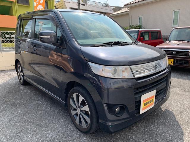 沖縄の中古車 スズキ ワゴンRスティングレー 車両価格 45万円 リ済込 2012(平成24)年 9.0万km グレー