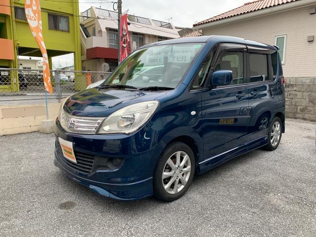 沖縄県の中古車ならソリオ X 両側スライドドア・ナビ・バックカメラ