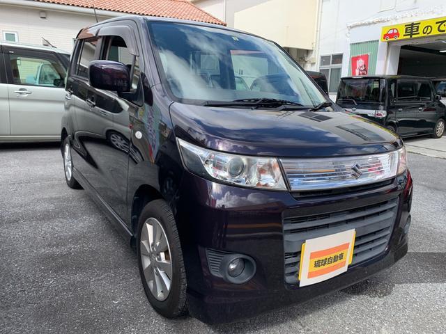 沖縄の中古車 スズキ ワゴンRスティングレー 車両価格 39万円 リ済込 2011(平成23)年 7.8万km ワインII