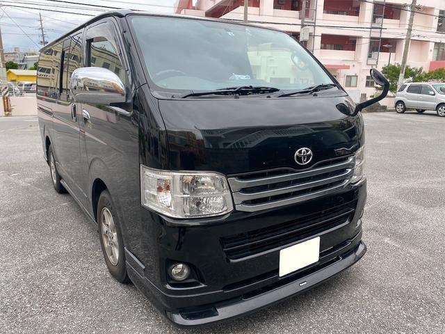 沖縄の中古車 トヨタ ハイエースバン 車両価格 170万円 リ済別 2012(平成24)年 24.0万km ブラック