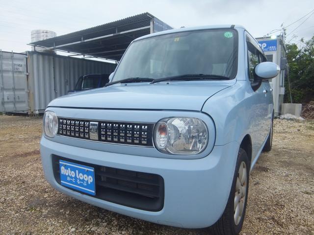 沖縄の中古車 スズキ アルトラパン 車両価格 43万円 リ済込 2013(平成25)年 9.5万km ライトブルーM