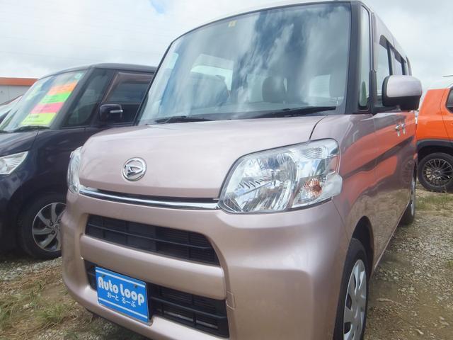 沖縄県の中古車ならタント L アイドリングストップ 本土車