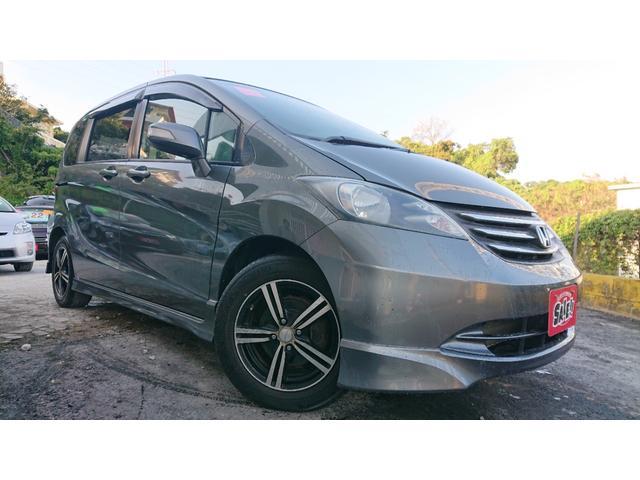 沖縄の中古車 ホンダ フリード 車両価格 42万円 リ済込 2009(平成21)年 4.3万km グレー