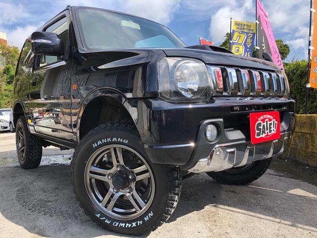 沖縄の中古車 スズキ ジムニー 車両価格 82万円 リ済込 2012(平成24)年 10.0万km ブラック