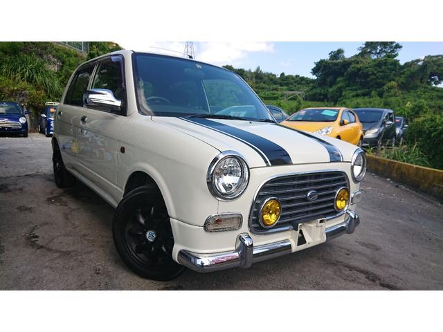 沖縄の中古車 ダイハツ ミラジーノ 車両価格 32万円 リ済込 2002(平成14)年 15.3万km パール