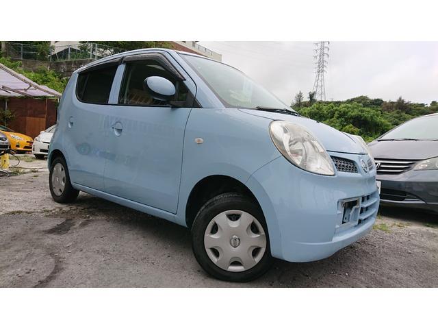 沖縄の中古車 日産 モコ 車両価格 33万円 リ済込 2010(平成22)年 6.3万km ライトブルー