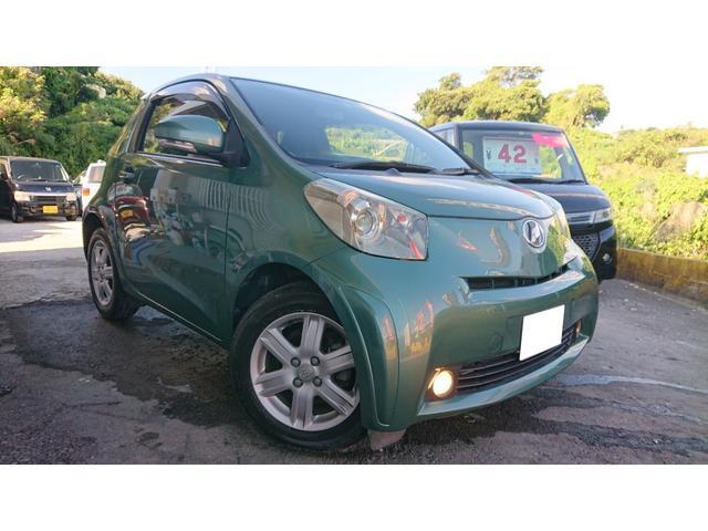 沖縄の中古車 トヨタ iQ 車両価格 37万円 リ済込 2008(平成20)年 5.8万km グリーン