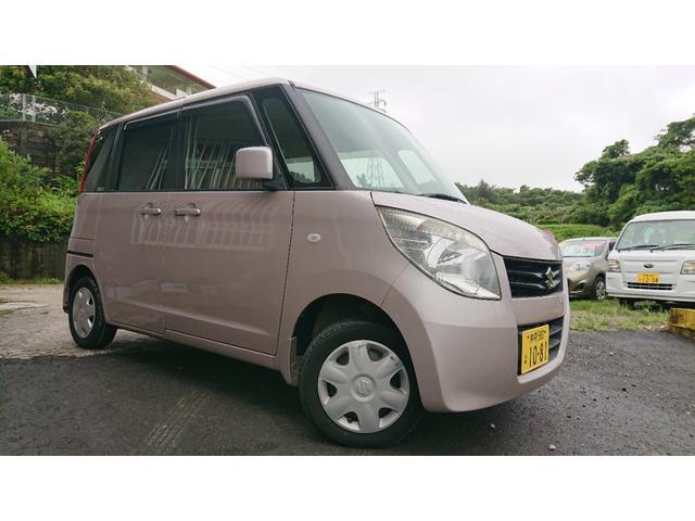 沖縄県の中古車ならパレット L 2年保証付き ヘッドライトコーティング施工済