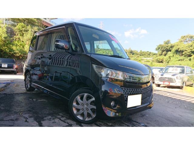 沖縄の中古車 スズキ パレットSW 車両価格 42万円 リ済込 2012(平成24)年 9.0万km ブラック
