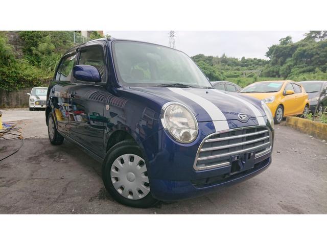 沖縄の中古車 ダイハツ ミラジーノ 車両価格 29万円 リ済別 2007(平成19)年 8.1万km ブルー