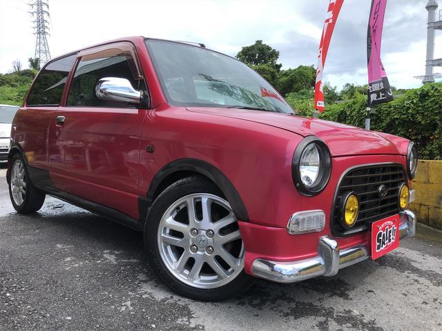 沖縄の中古車 ダイハツ ミラジーノ 車両価格 45万円 リ済込 2001(平成13)年 11.7万km ピンク