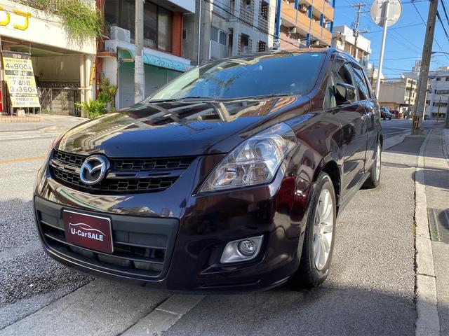 沖縄の中古車 マツダ MPV 車両価格 58万円 リ済込 2007(平成19)年 6.4万km パープルM