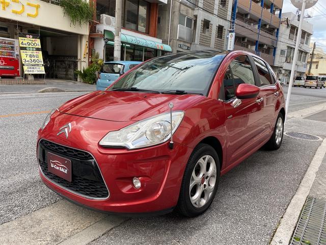 沖縄の中古車 シトロエン C3 車両価格 55万円 リ済込 2010(平成22)年 4.6万km レッドM