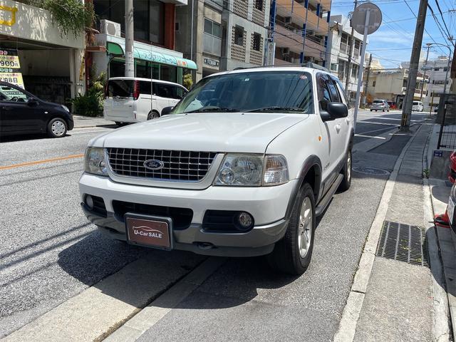 沖縄の中古車 フォード エクスプローラー 車両価格 34万円 リ済込 2006(平成18)年 14.2万km ホワイトII