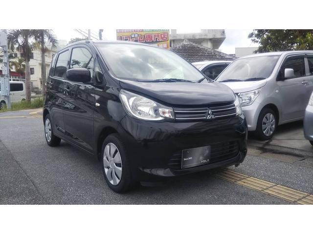 沖縄県の中古車ならeKワゴン M Bluetooth・DVD・レザー調シートカバー・ETC・クーラータッチパネル・アイドリングストップ