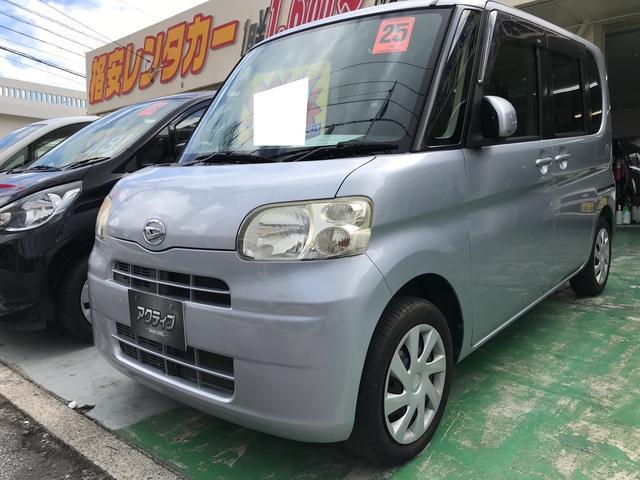 沖縄県うるま市の中古車ならタント L アイドリングストップ・レザーシートカバー・本土オークション仕入