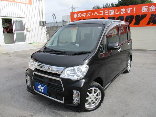 沖縄の中古車 ダイハツ タントエグゼ 車両価格 49万円 リ済込 2012(平成24)年 10.0万km ブラック
