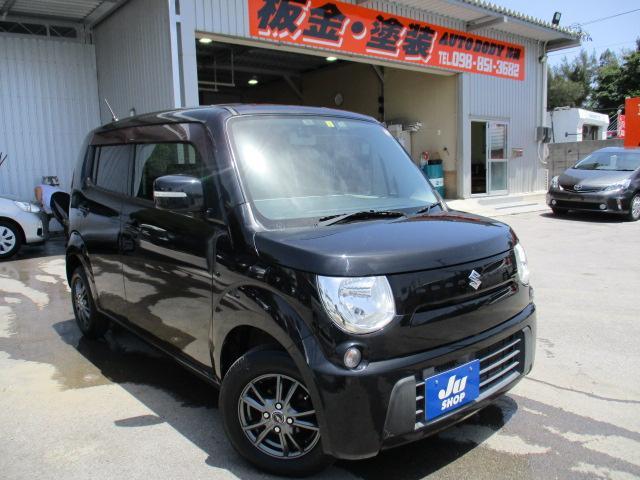 沖縄の中古車 スズキ MRワゴン 車両価格 48万円 リ済込 2012(平成24)年 7.8万km ブラック