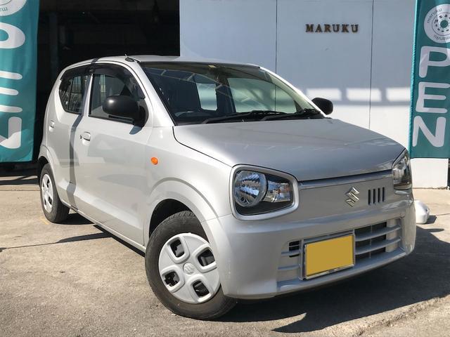 沖縄の中古車 スズキ アルト 車両価格 49万円 リ済別 2018(平成30)年 3.2万km シルバー