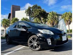 プリウスGツーリングセレクション ACC車間距離維持・本革ハンドル・純正ナビ・TV・Bluetooth・コーナーセンサ・ ETC・バックモニタ・社外アルミホイール・2年保証対象車