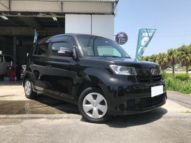 沖縄の中古車 トヨタ bB 車両価格 34万円 リ済別 2010(平成22)年 12.3万km ブラック