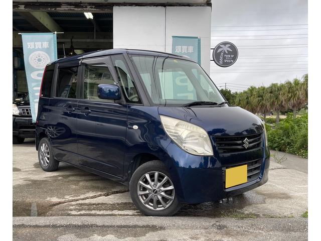 沖縄の中古車 スズキ パレット 車両価格 19万円 リ済別 2009(平成21)年 12.6万km ダークブルー