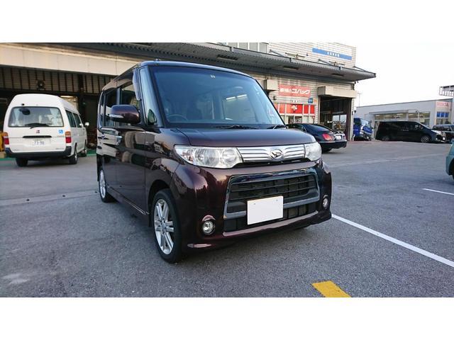 沖縄の中古車 ダイハツ タント 車両価格 63.8万円 リ済別 2012(平成24)年 7.5万km ブラウンM