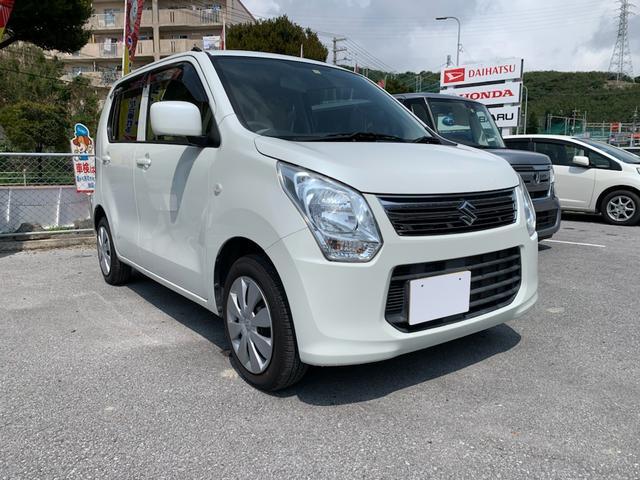 沖縄の中古車 スズキ ワゴンR 車両価格 49.8万円 リ済別 2012(平成24)年 3.9万km ホワイト