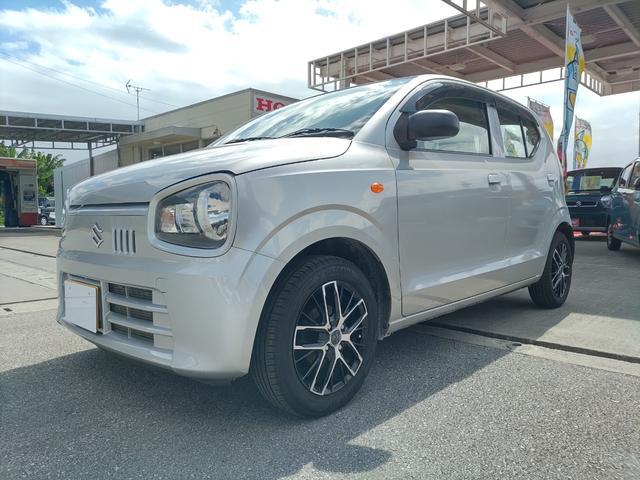 沖縄県の中古車ならアルト L 運転席シートヒーター・キーレスリモコン・社外ナビ・社外アルミホイール付