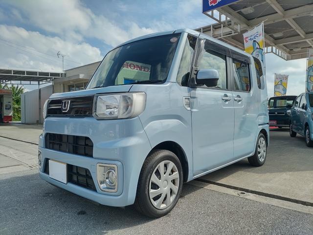 沖縄県中頭郡西原町の中古車ならウェイク D キーレスリモコン・リヤスライドドア・リヤシートスライド機構・リヤシートリクライニング機構・アイドリングストップ機構